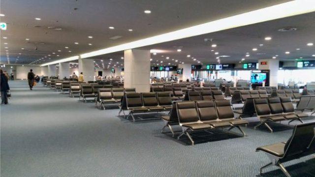 羽田空港バスラウンジ